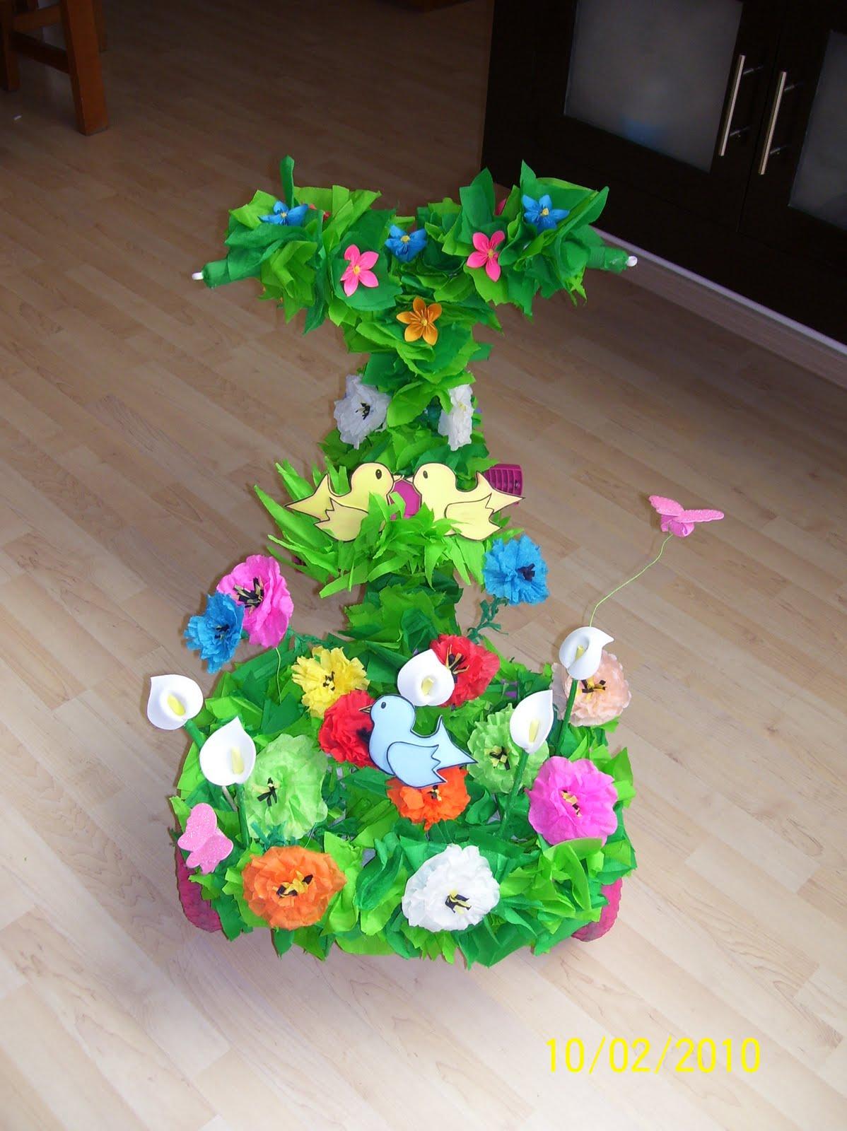Monys monadas decoraci n de triciclos primavera for Decoracion primavera infantil