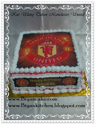 Kue Tart Manchester United