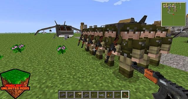Flan's Mod army