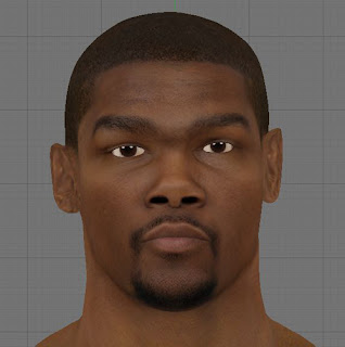 NBA 2K13 Kevin Durant HD Realistic Cyber Face Patch
