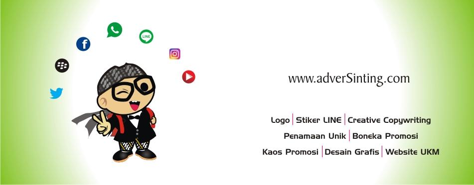 AdverSinting : Konsep Kreatif Branding desain logo iklan promosi dan konsultan focap sosial media