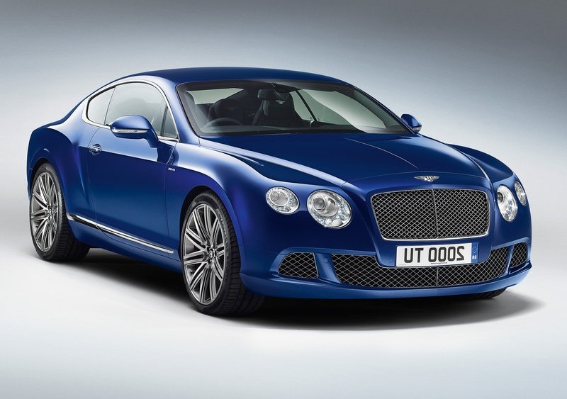 Amazing Bentley Continental GT Speed (2013)