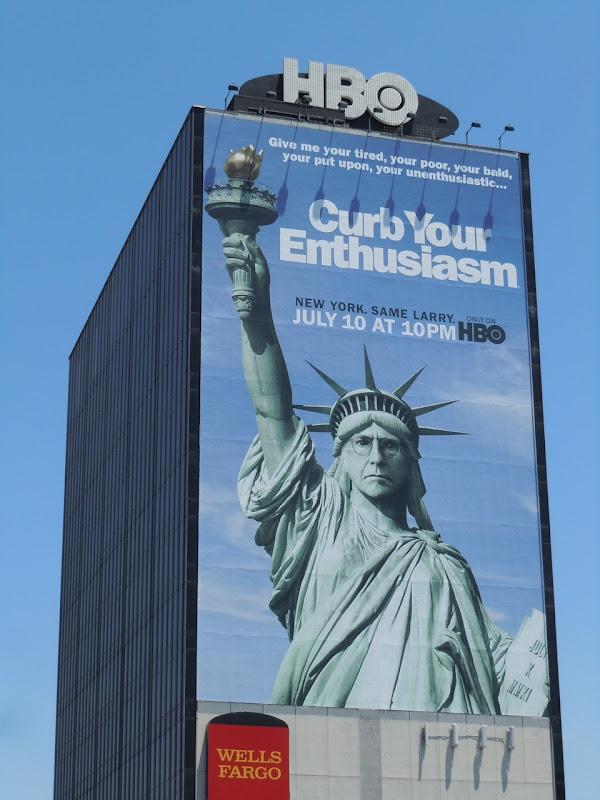 Giant Curb Your Enthusiasm billboard