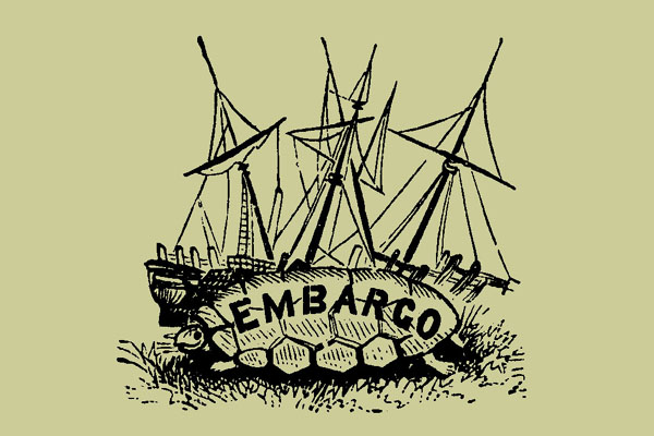 thomas jefferson embargo act of 1807 What replaced the embargo act of 1807 the embargo act of 1807 was when thomas jefferson signed the a bill that prohibited ships that were destined for other.