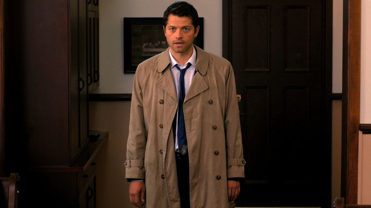 Castiel Full Body Back
