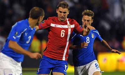 Serbia 1 - 1 Italy (2)