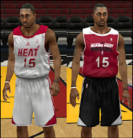 NBA 2K13 Miami Heat Practice Jersey Mod