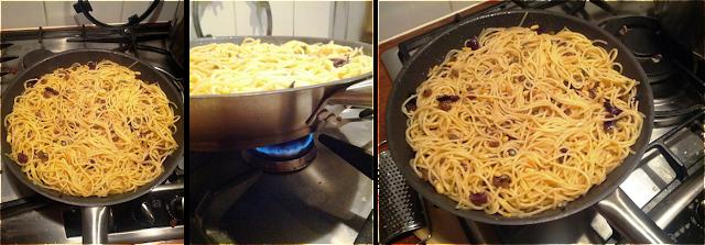 frittata di scammaro, scammaro recipe, eggless pasta omelet, pasta frittata, italian spaghetti omelet