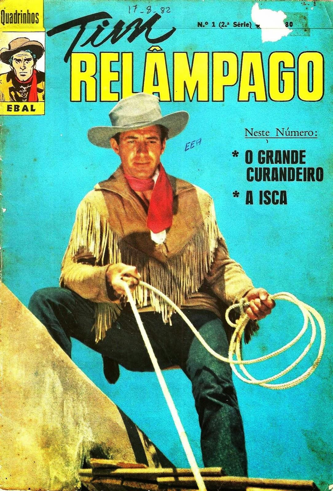TIM RELÂMPAGO EBAL Nº 006 1972
