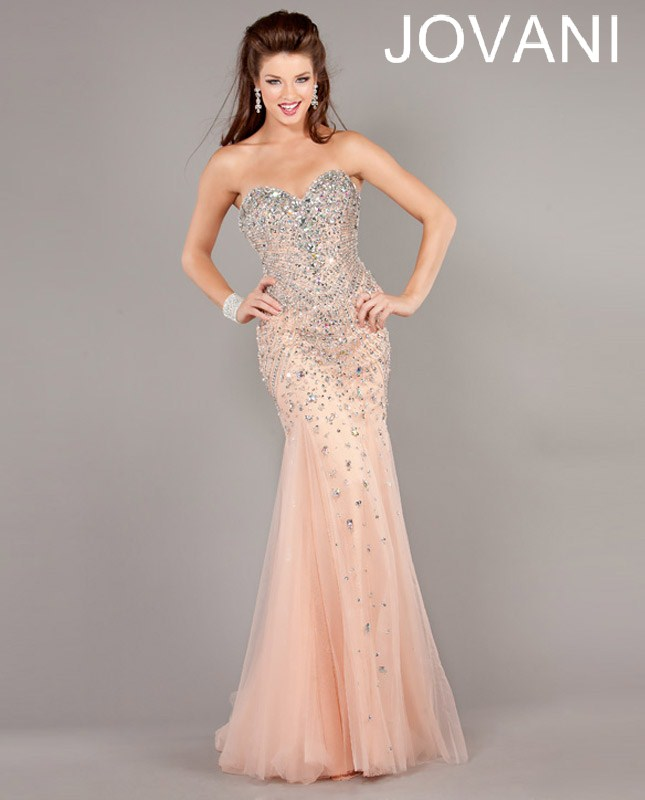 Jovani Prom Dresses 2013 long mermaid sequins