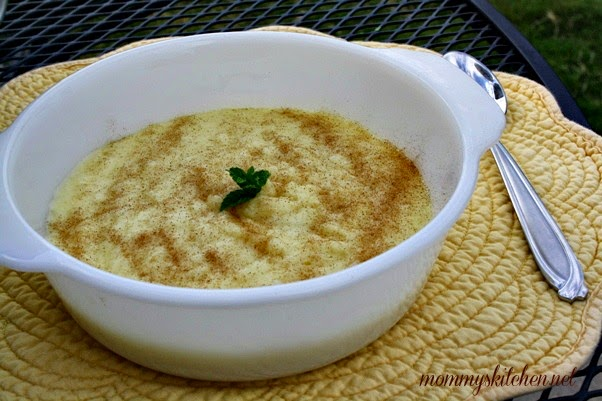 ... rice i always make homemade rice pudding oh how i love it rice pudding