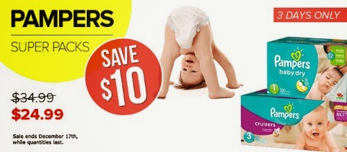 Well.ca Pampers Super Packs $10 Off