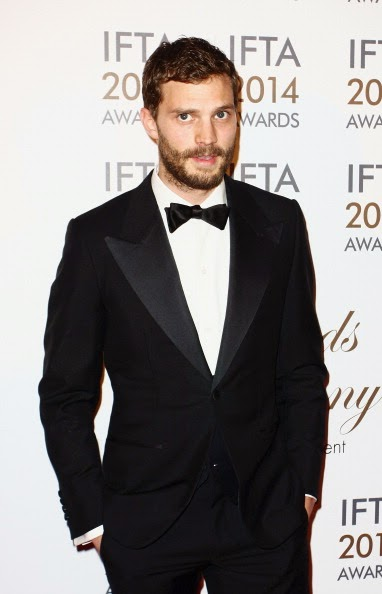 Jamie Dornan in Thom Sweeney - Irish Film And Television Awards 2014