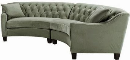 Curved Sofa Couch Furniture Curved Sectional Sofas For Sale