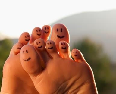 cara menghilangkan bau kaki secara alami