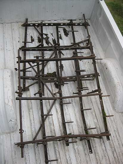 Antique Spike Harrows : Life among the tall pines new used harrow sections