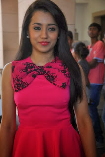 Acress Trisha Latest Pictures at Endrendrum Punnagai Success Meet  0023