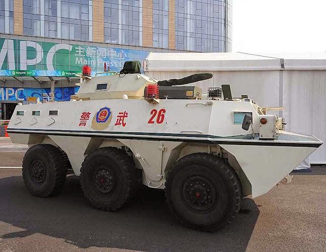 A Venezuela comprou 80 blindados Norinco VN4, adaptados para reprimir protestos, produzidos pela estatal China North Industries Corporation (Norinco)