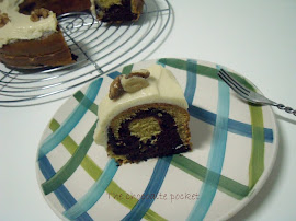 Bundt chocolate y mascarpone