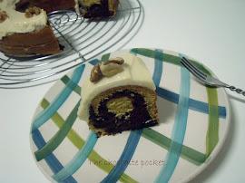 Tiramisú bundt cake