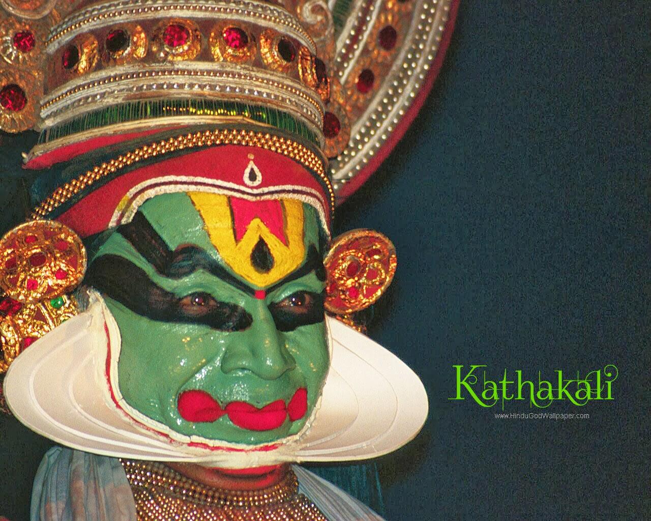 Calendar Raksha Bandhan : Kerala kathakali hindu god wallpapers download