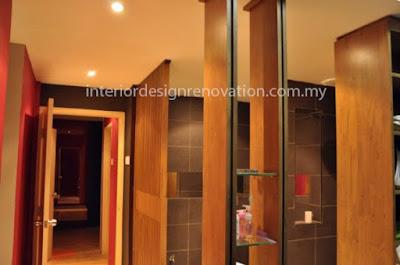 wardrobe changing area renovation apartment condo kuala lumpur selangor seremban