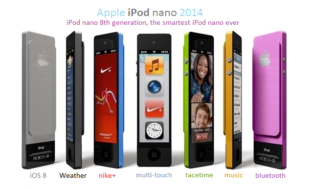 iPod Nano 8G Release Date  2014, Price, Specs and Features
