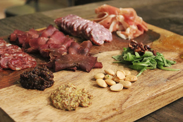 Charcuterie at Bee's Knees Supply Company