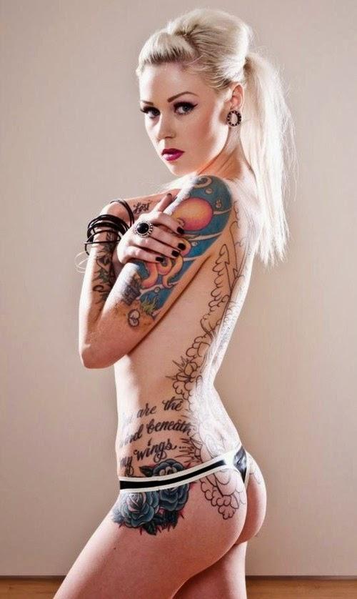 Hot Girls Tattoo Sexy Designs