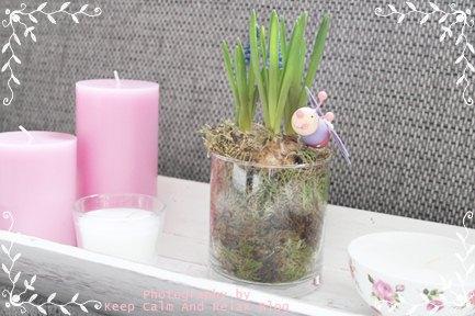 Tischdeko wohnzimmertisch  Keep Calm And Relax: Spring Time & Kauftipp
