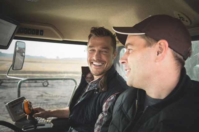 'Prince Farming' Chris Soules Visits Ontario Grain Farm