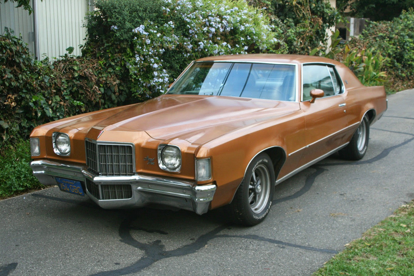 all american classic cars 1972 pontiac grand prix 2 door hardtop. Black Bedroom Furniture Sets. Home Design Ideas