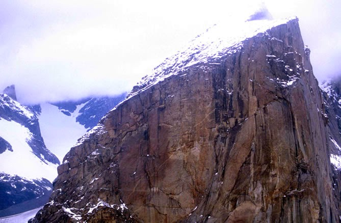 Earth's Largest Pure Vertical Drop - Mount Thor