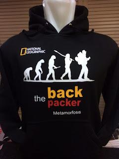 gambar detail jaket hoodie jersey terbaru musim depan Jaket hoodie The Backpacker Metamorfosis warna hitam terbaru musim 2015/2016 kualitas grade ori