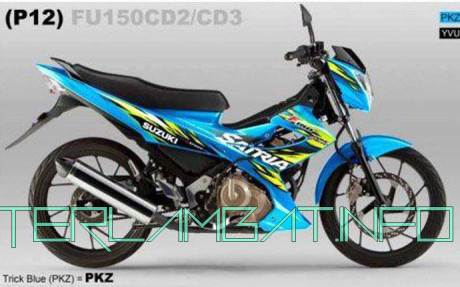Foto Satria FU 2013