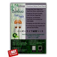 Bamboo Foot Patch Silver