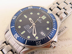 OMEGA SEAMASTER PROFESSIONAL CHRONOMETER 300 METER BLUE WAVE DIAL - OMEGA DIVER JAMES BOND 007-AUTO