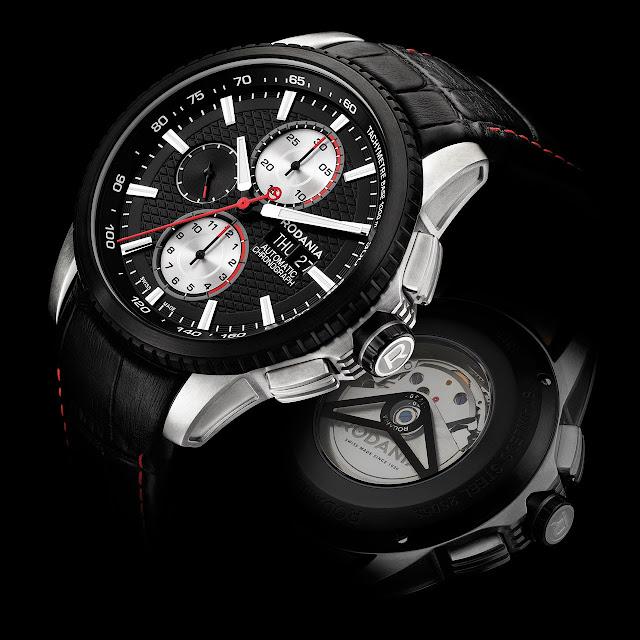 Rodania Xseba Black Edition Watch