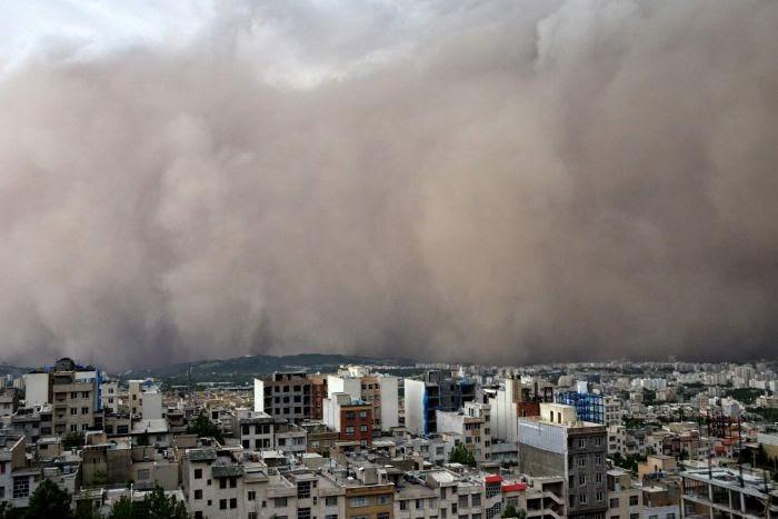 Tehran dilanda ribut pasir berkelajuan 80 mph