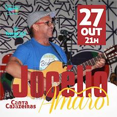JOCÉLIO AMARO CANTA CAJAZEIRAS. DIA 27/10, ÀS 21H, NO TEATRO ÍRACLES PIRES. VAMOS LÁ!