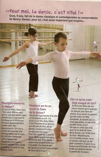 boys do ballet too les gar ons aussi peuvent faire de la danse classique. Black Bedroom Furniture Sets. Home Design Ideas