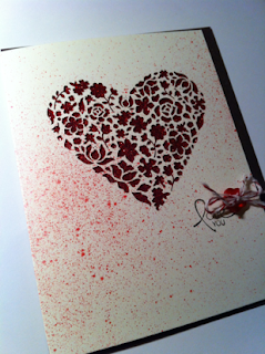 Valentine's Day card by Ida Chan, Stampin' Up! Demonstrator, Vancouver