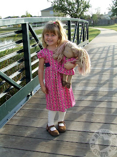 Waldorf Doll Dress and Simplicity 2320 Project Runway Dress