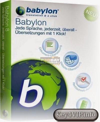 Babylon 10.0.2 Final Full,Phần mềm dịch tự động văn bản nhiều ngôn ngữ sang tiếng Việt