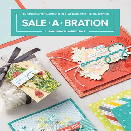 Sale-a-bration; Geschenke je 60€ Bestellwert
