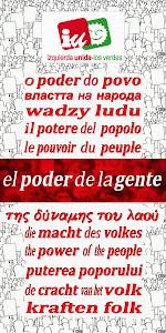VOTA A LA IZQUIERDA: VOTA IZQUIERDA PLURAL-IZQUIERDA UNIDA