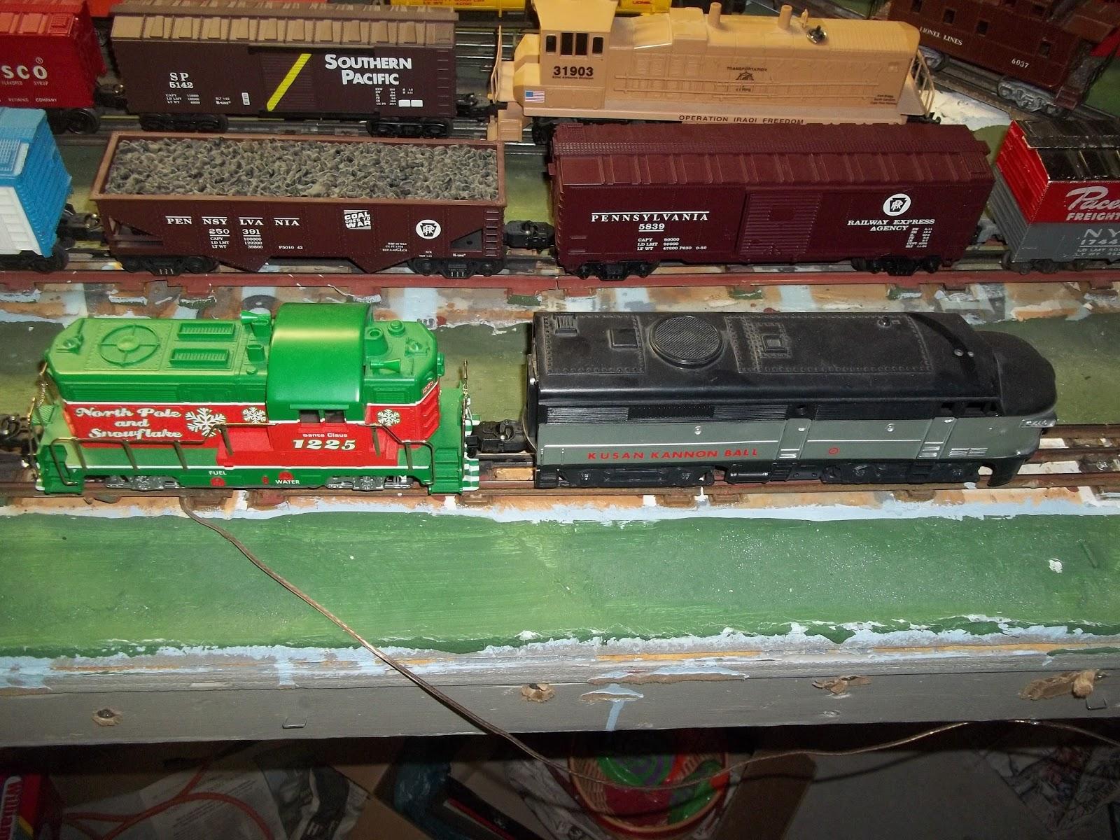 Wiring Diagram Lionel Cattle Car : 3 rail fun