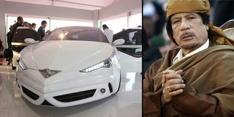 'Libyan Rocket', The Most Safety Car Works dictator