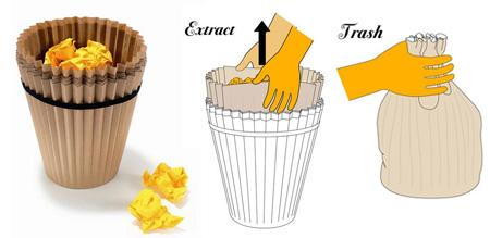 20 Tempat Sampah Terunik di Dunia: Fabriano Waste Paper Basket