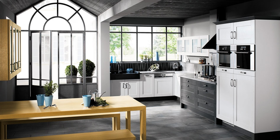 Black And White Kitchens From French Kitchen Maker Mobalpa